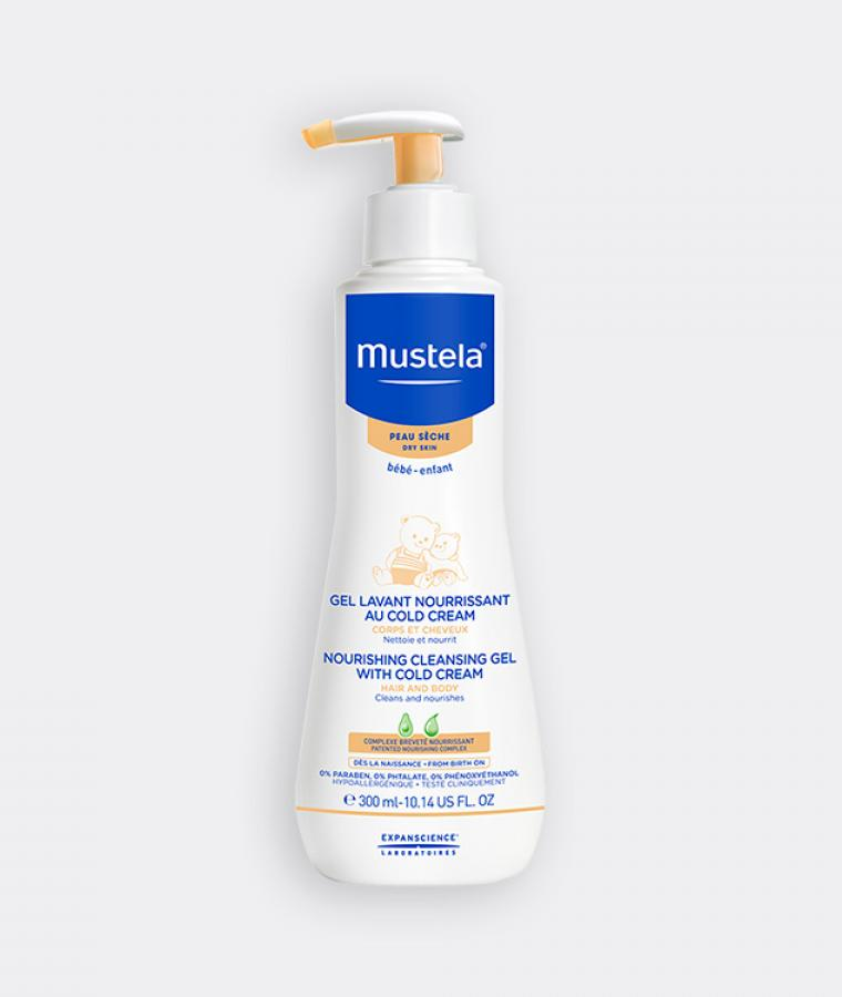 Mustela Cleansing Gel for babies with dry skin