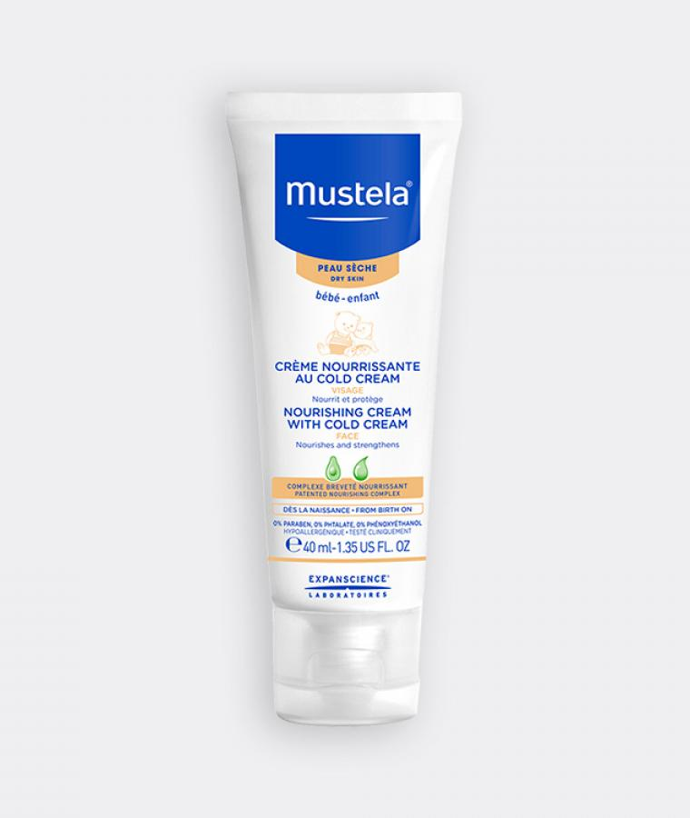 Mustela Nourishing cream for babies with dry skin